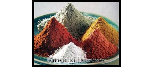 Barwniki i surowce do ceramiki